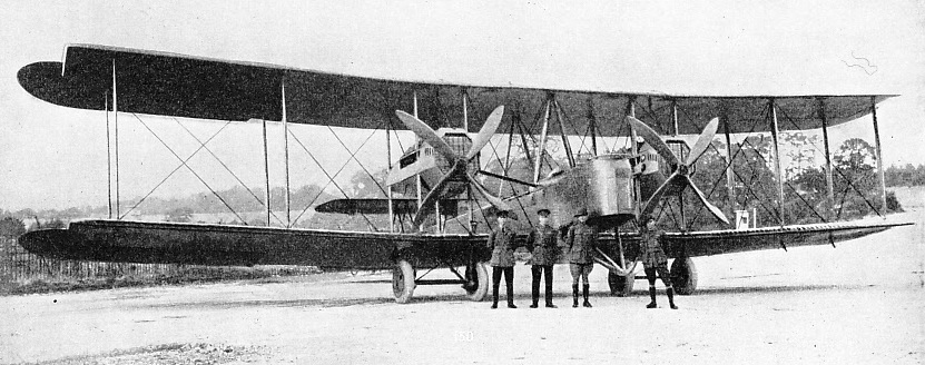 AIRCRAFT AND CREW on the first England-Australia flight