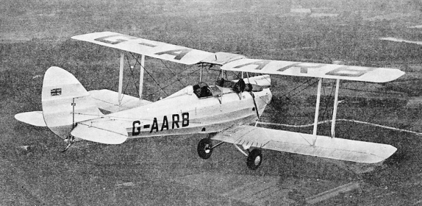This De Havilland Gipsy Moth was piloted by Miss Jean Batten in 1934