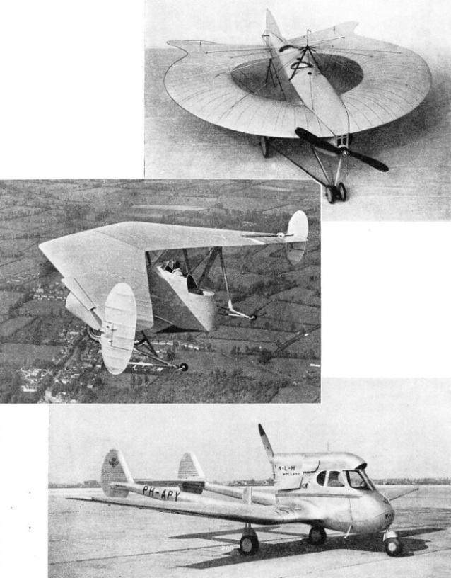 Fixed wing machines