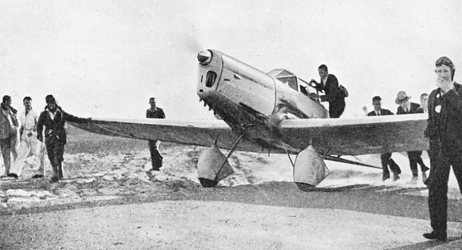 Kingsford-Smith After his Record-Breaking Flight in 1933
