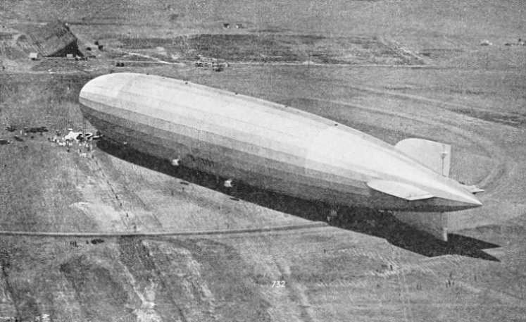 AFTER HER PACIFIC CROSSING the Graf Zeppelin landed outside Los Angeles