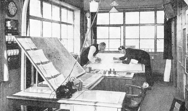 The Radio Room at Croydon Airport