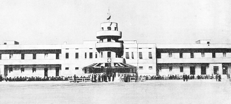 The Control Tower at Basra Airport