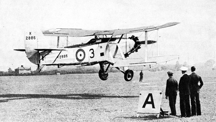 PRACTISING DECK LANDING ON AN AERODROME at Gosport