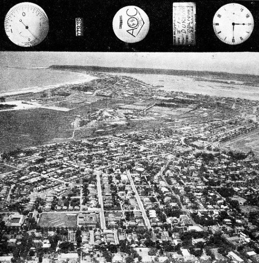 PRINT OF AN AIR VIEW of Durban, South Africa