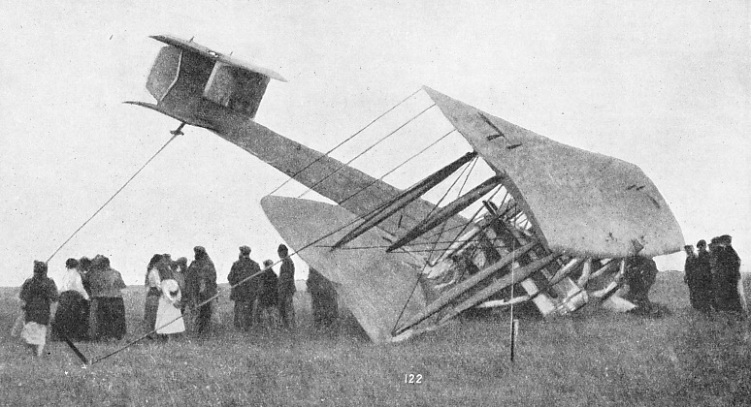 END OF THE FIRST NORTH ATLANTIC FLIGHT