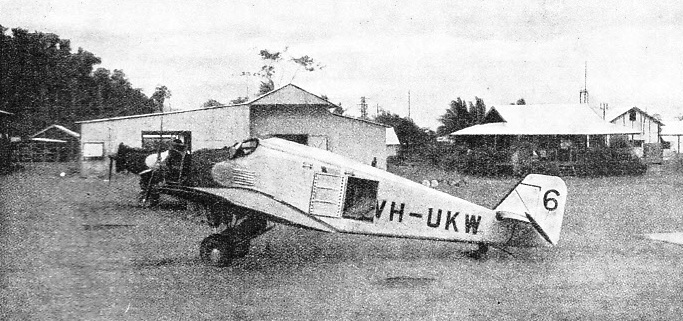A Junkers Monoplane Used for Transporting Gold
