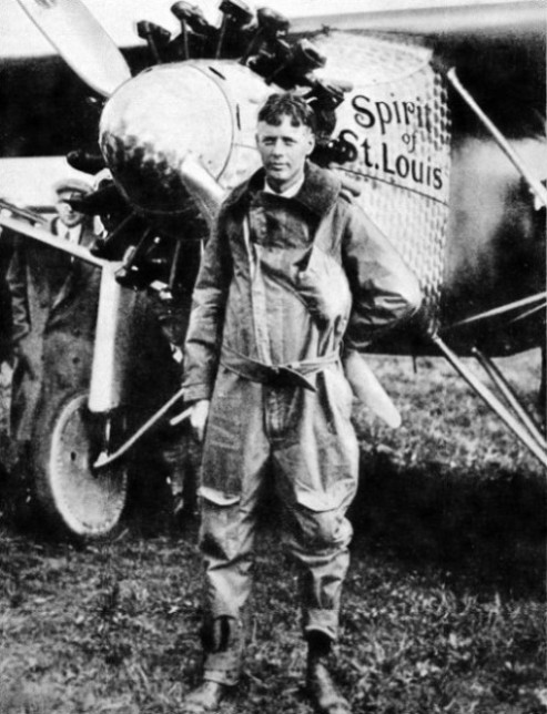 Lindbergh made his epic solo flight in the Spirit of St. Louis