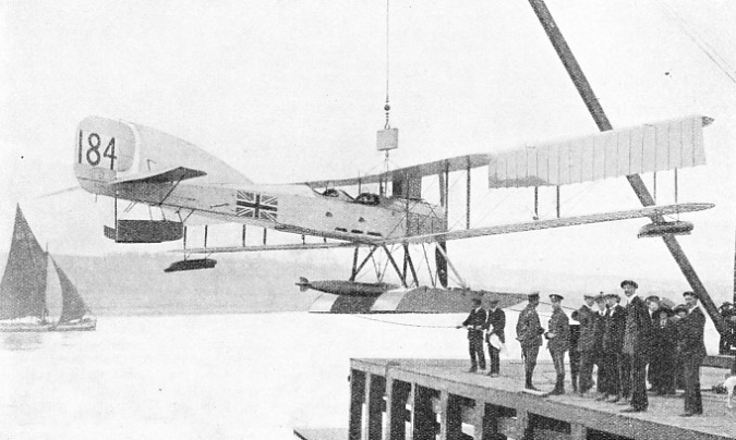 SHORT TORPEDO-CARRYING SEAPLANE, the S.184