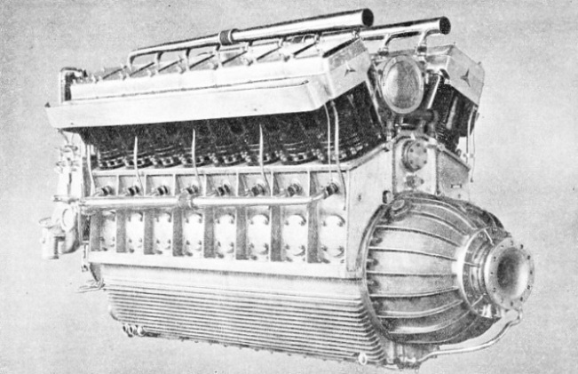 SELECTED FOR THE ZEPPELIN AIRSHIP LZ 130, the DB 602 is a sixteen-cylinder V type diesel engine