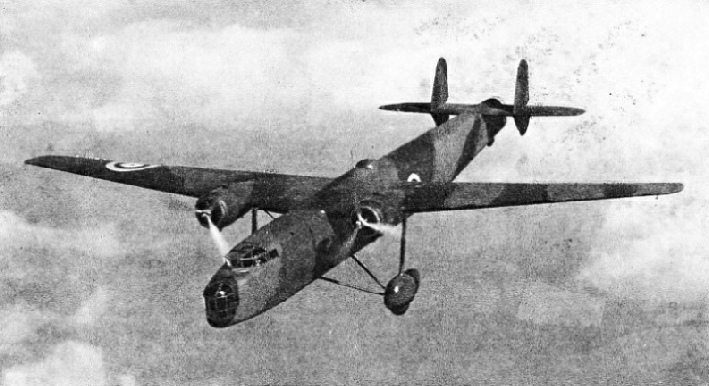 THE HARROW HEAVY BOMBER, one of the modern fighting machines made by Handley Page