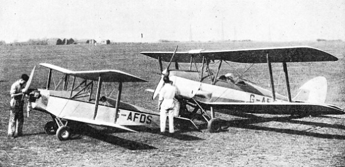 A SMALL SINGLE-SEATER BIPLANE the single-seater Currie Wot
