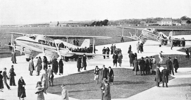 The Opening of Jersey Airport in 1937