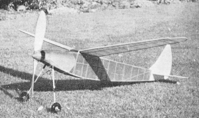 A Duration Type Model Aeroplane