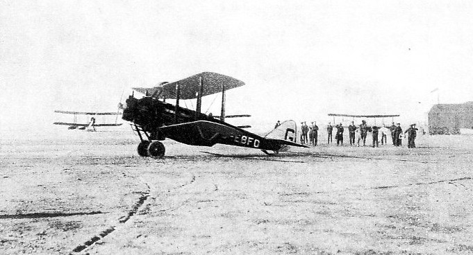 COBHAM LEAVING ALEXANDRIA for the flight south through Egypt and the Anglo-Egyptian Sudan