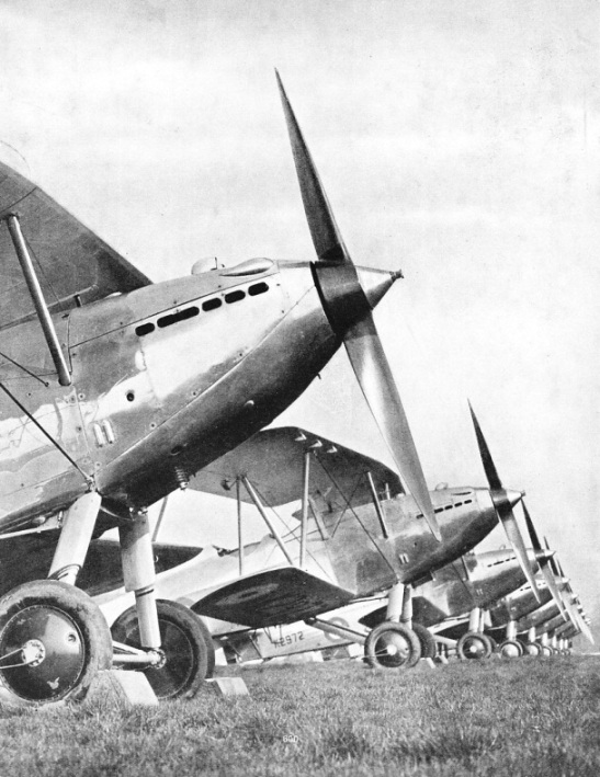 Hawker Harts of No. 601 Squadron of the Auxiliary Air Force