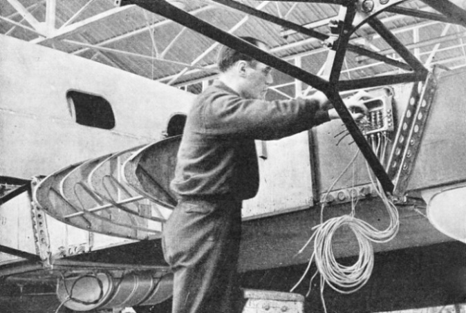 NO JOINTS ARE PERMITTED in the wiring of an aeroplane