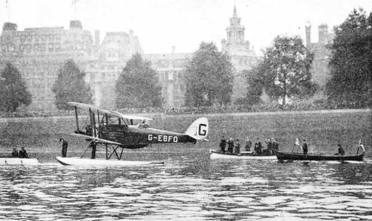 Cobham on the River Thames, October 1, 1926