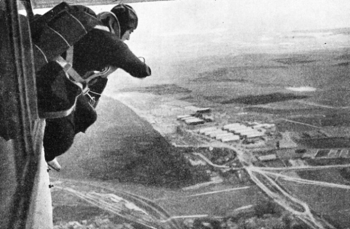 The First Stage of a Parachute Descent