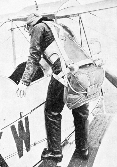 LESLIE IRVIN, inventor of the Irvin Air Chute