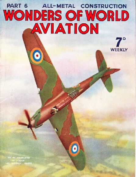 The cover of Part 6 also featured a coloured cover showing a production Fairey Battle during its acceptance tests