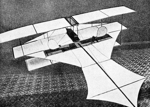 MODEL TRIPLANE exhibited at the first Aeronautical Exhibition, 1868