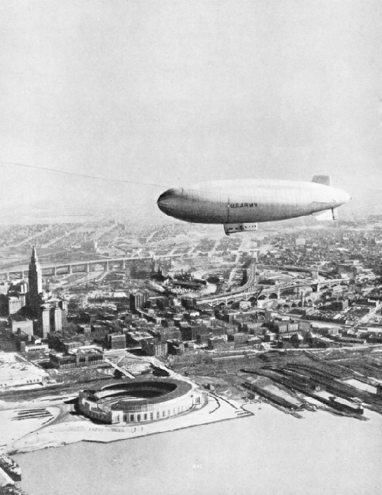 The T.C. 13 is a non-rigid airship