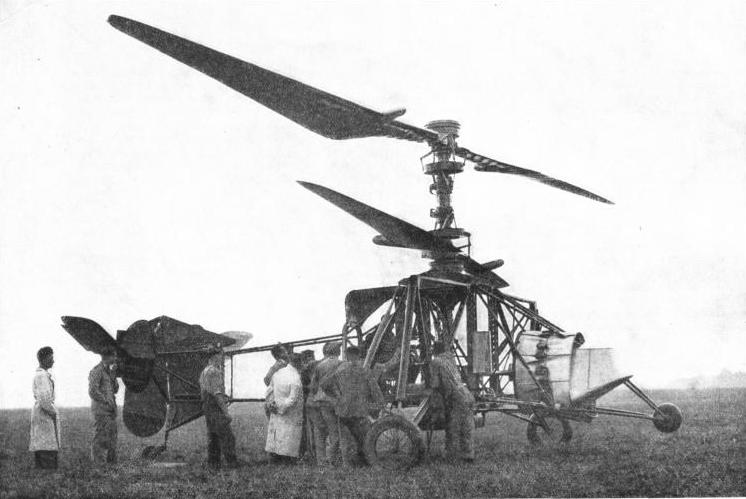 The Breguet-Dorand helicopter