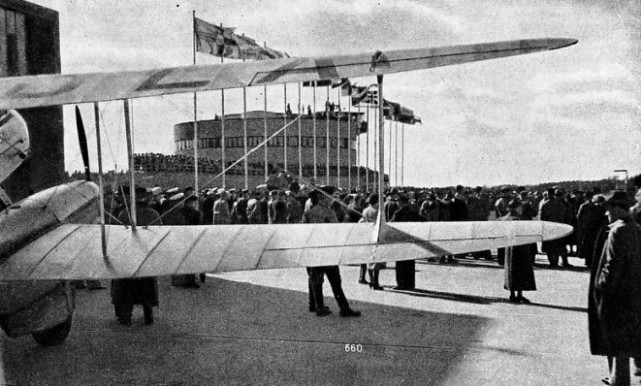 THE OFFICIAL OPENING of the Helsinki aerodrome