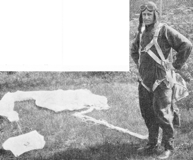 THE CONTROLS OF THE AEROPLANE FAILED on June 13, 1924, when Second-Lieut. Walter Lee was flying as low as 150 feet