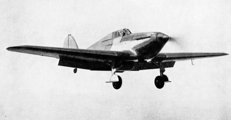 ABILITY TO FLY SLOWLY as well as fast is required in the modern fighter