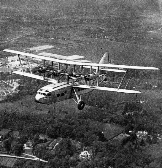 The Scylla was a development of the Kent type of flying boat used by Imperial Airways