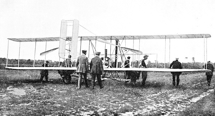 The Wright Aeroplane in France