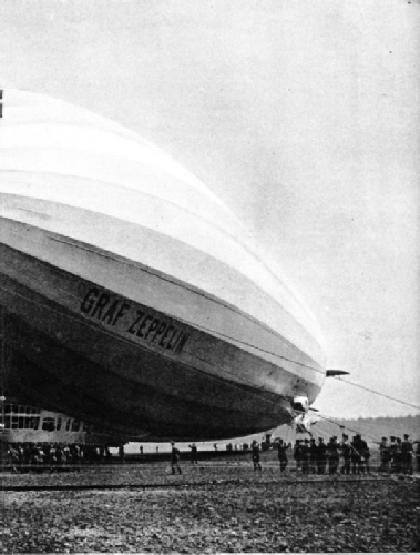 GRAF ZEPPELIN at Frankfurt-am- Main, Germany