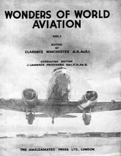 Title page of Wonders of World Aviation