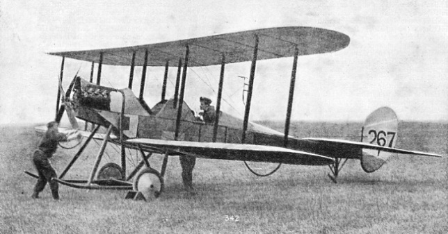 The BE2, was designed and built by de Havilland at Farnborough in 1912