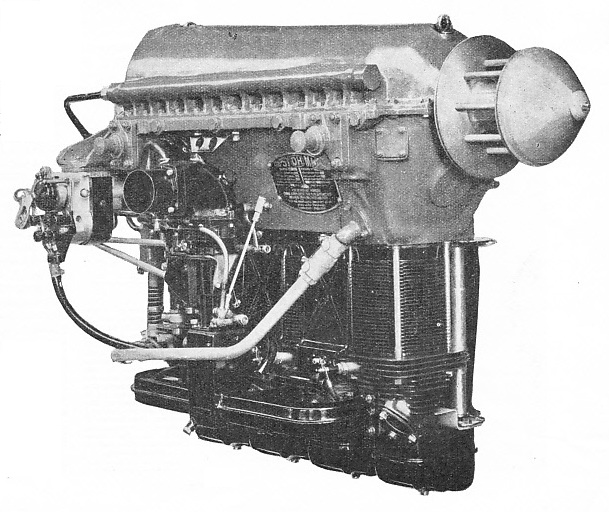 THE GIPSY MAJOR ENGINE in its Series I form