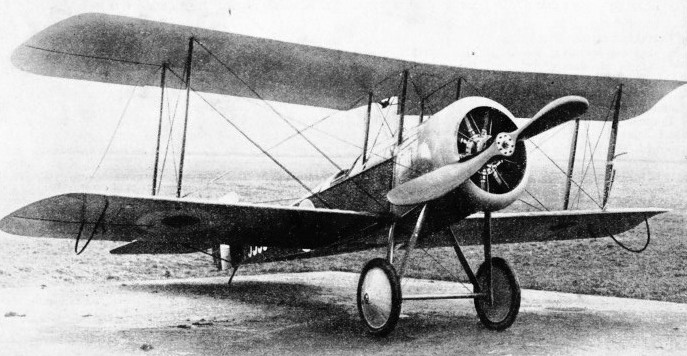 THE OBSERVATION MACHINE was the forerunner of the fighter