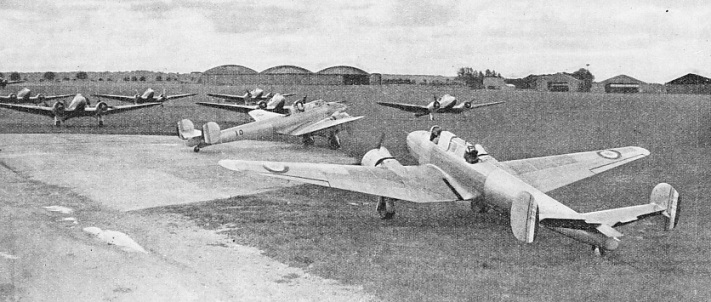 POTEZ 63 MONOPLANES at Villacoublay, eight miles south-west of Paris
