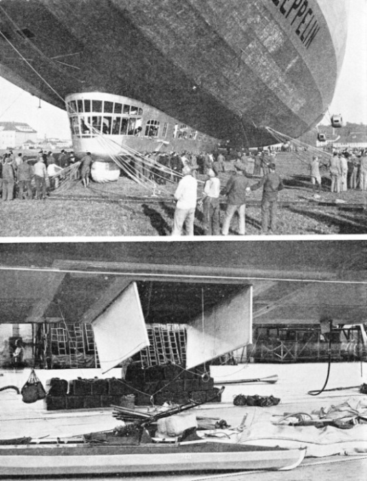 Famous German airship flights