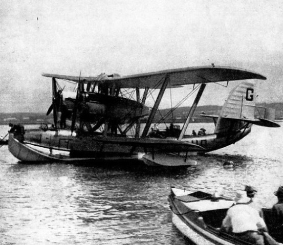 Cobham's Singapore I was the first flying boat ever seen in South Africa