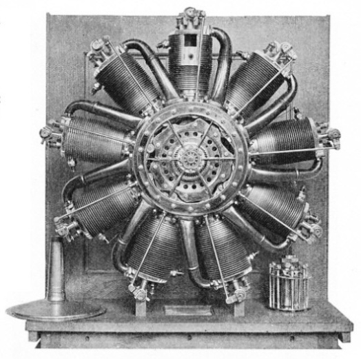 The 80hp Le Rhone Rotary Engine
