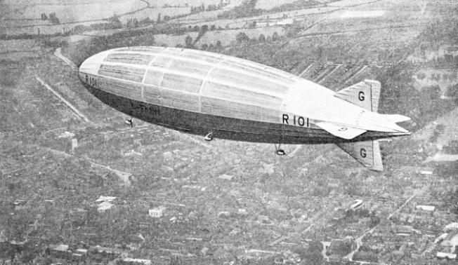 THE FIRST TRIAL FLIGHTS of the R 101 were made in 1929