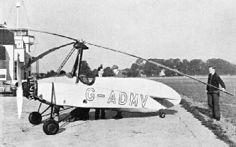 The Hafner gyroplane