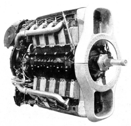 SMALL FRONTAL AREA is a feature of the Napier Rapier engine