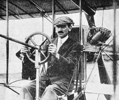 GLENN H. CURTISS, a prominent member of the Aerial Experiment Association
