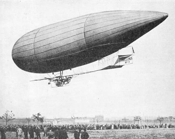 THIS AIRSHIP MADE HISTORY by being the first airship to cross the English Channel