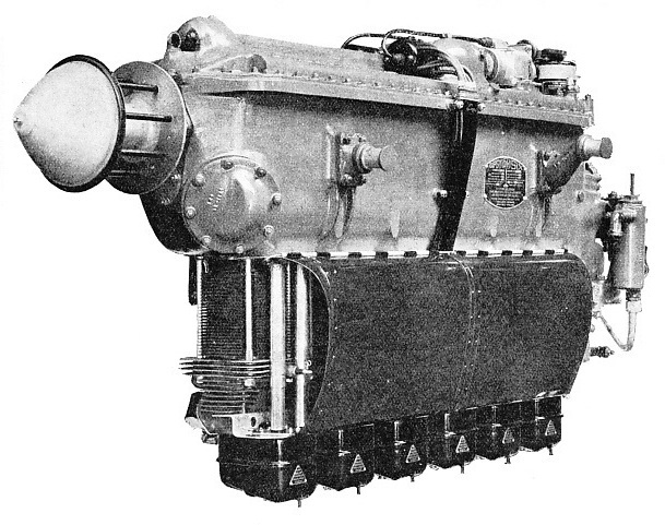 The Gipsy Six 1 Engine