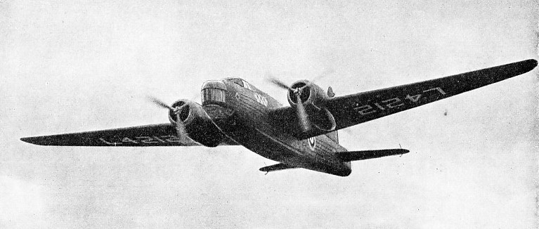 A TWIN-ENGINED GEODETIC MACHINE, the Vickers Wellington Mk. I