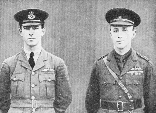 HEROES OF THE FIRST ENGLAND TO AUSTRALIA FLIGHT